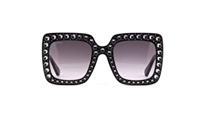 d70f9ee6d9 Gucci Mujer GG0148S 001 Gafas de sol, Negro (Black/Grey), 53: Amazon.es:  Ropa y accesorios