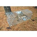 """Pet Trex Zinc Live Animal Trap Racoon Skunk Cat Traps, 37"""""""