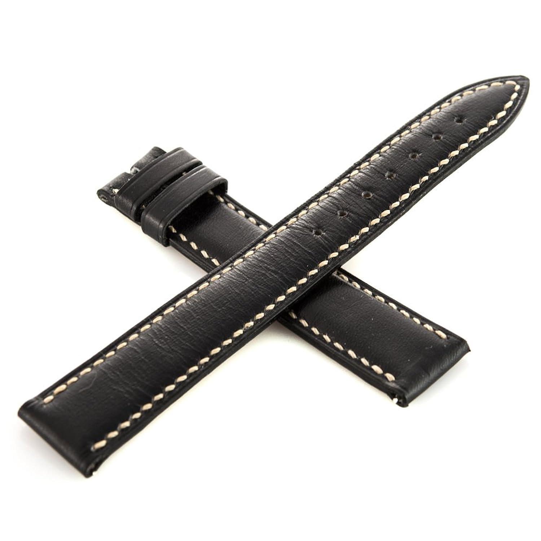 Franck Muller Geneve Leder schwarz 16–14 mm Armbanduhr Band