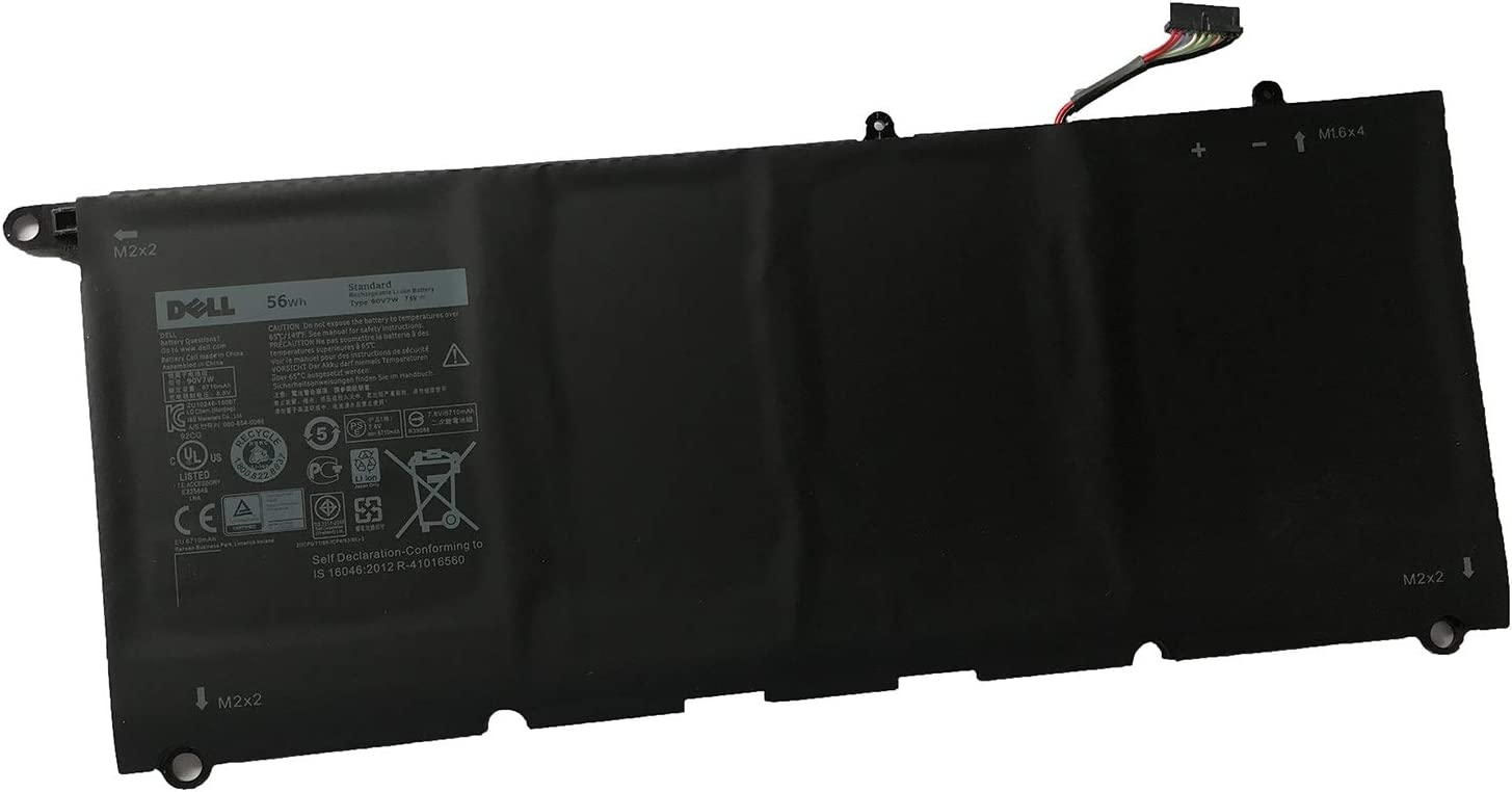 DELL 90V7W Notebook Battery 7.6V 56Wh for DELL XPS 13 9350 Laptop Series