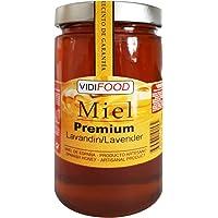 Miele Cruda Premium di Lavanda - 1kg - Raccolti In Spagna - Della Migliore Qualità, Fatta In Casa E Puro Al 100% - Aroma Floreale E Gusto Ricco E Dolce - Ampia Varietà Di Sapori