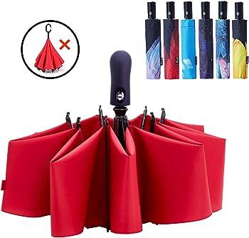 Fidus Inverted Umbrella Reverse Sun&Rain UV Umbrella