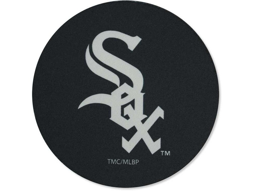 The Memory Company MLB Chicago White Sox Official Neoprene Travel Car Coasters (4 Pack), Multicolor, One Size