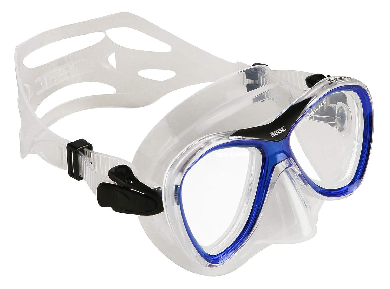 【高い素材】 Seac Capri Masque Masque de de snorkeling B004SOJRLC adulte Bleu B004SOJRLC, 韓国再発見:ed68efb2 --- ciadaterra.com