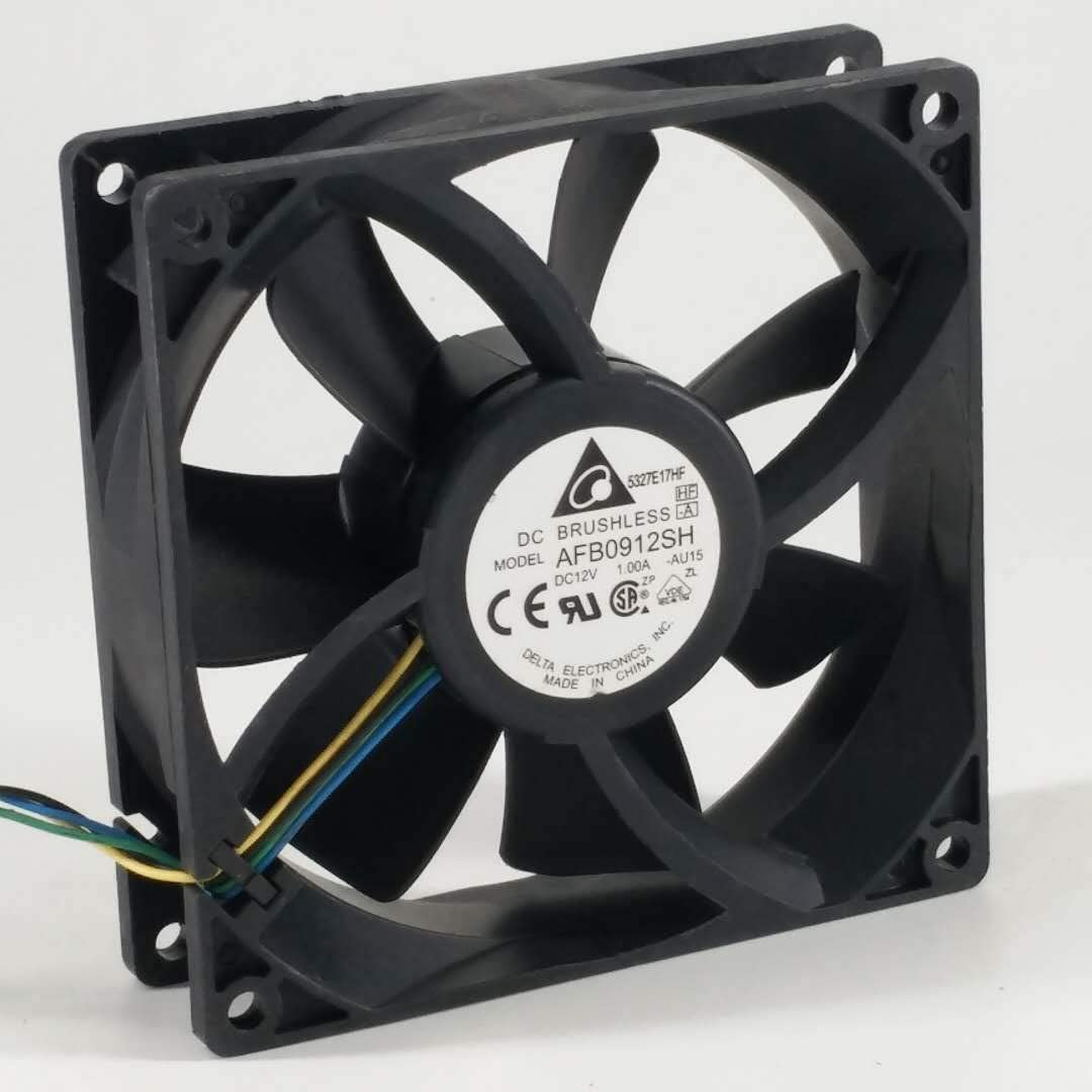 for Delta AFB0912SH 12V 1.00A DC9025 9CM 4-Wire PWM Cooling Fan