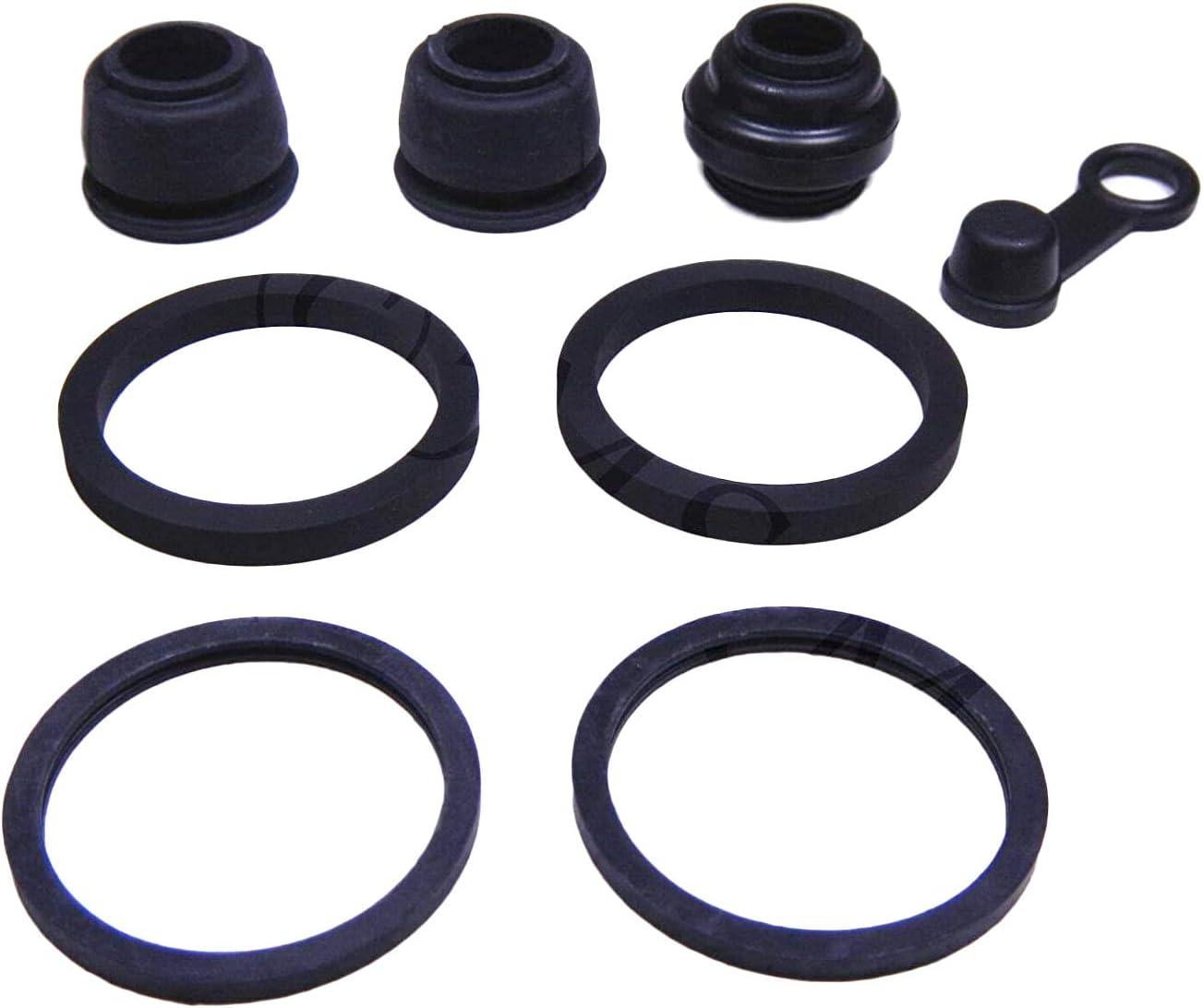Pro Braking PBK7773-TBL-SIL Front//Rear Braided Brake Line Transparent Blue Hose /& Stainless Banjos