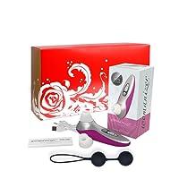 der neue womanizer PRO40 Magenta ( Intim Stimulationsgerät ) - die wasserdichte Version des Klassikers in limitierter Geschenkbox