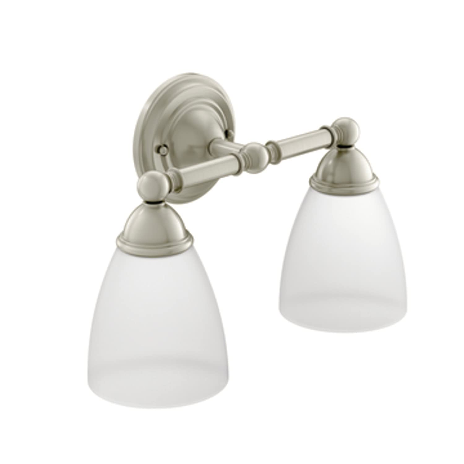 Moen YB2262BN Brantford Bath Lighting, Brushed Nickel   Bathroom Hardware    Amazon.com