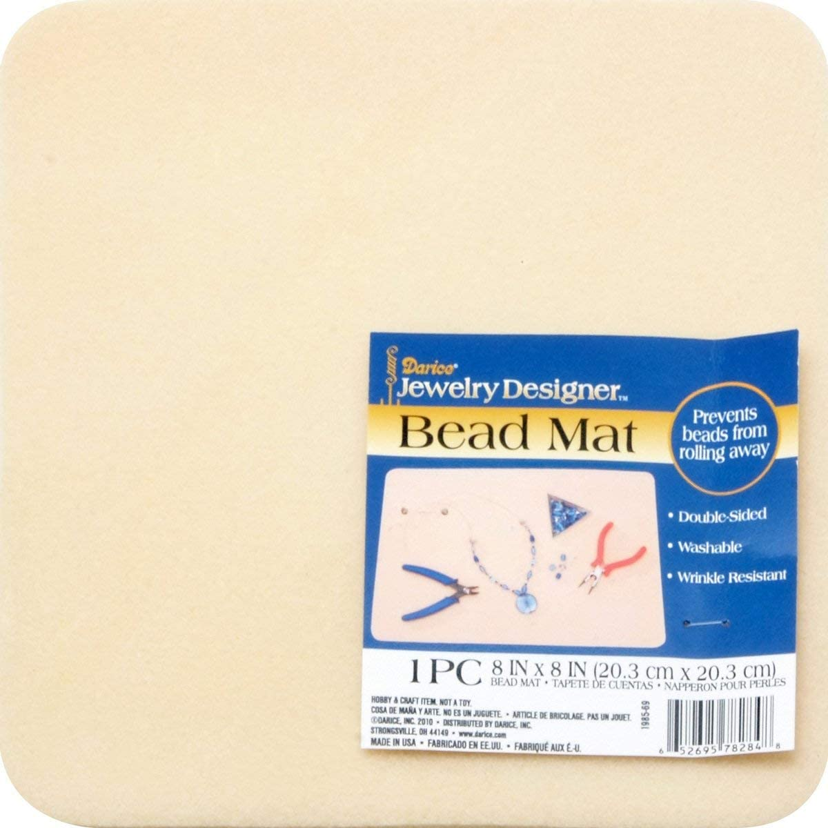 Sticky Bead Mat Product Dimensions 1 x 8 x 11 inches