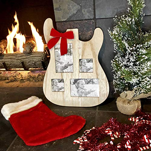 Guitar Body Shaped Picture Frame