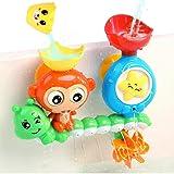 G-WACK Bath Toys for Toddlers Age 1 2 3 Year Old Girl Boy, Preschool New Born Baby Bathtub Water Toys, Durable Interactive Mu