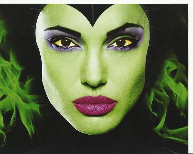 Maleficent 8 X 10 Movie Photo Angelina Jolie Close Up With