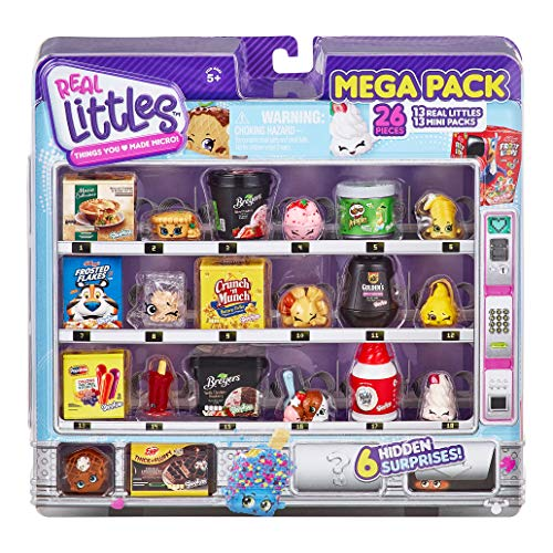 🥇 Shopkins Real Littles Mega Pack | 13 Real Littles Plus 13 Real Mini Packs