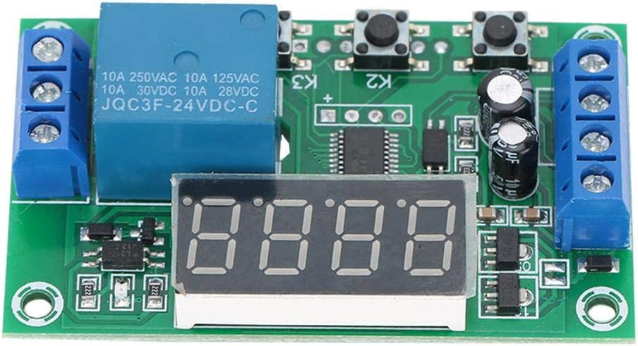 motore Display LED Timer regolabile Modulo interruttore di controllo automazione per elettrovalvola 12V cinghia leggera pompa acqua Rel/è temporizzatore YYC-2S