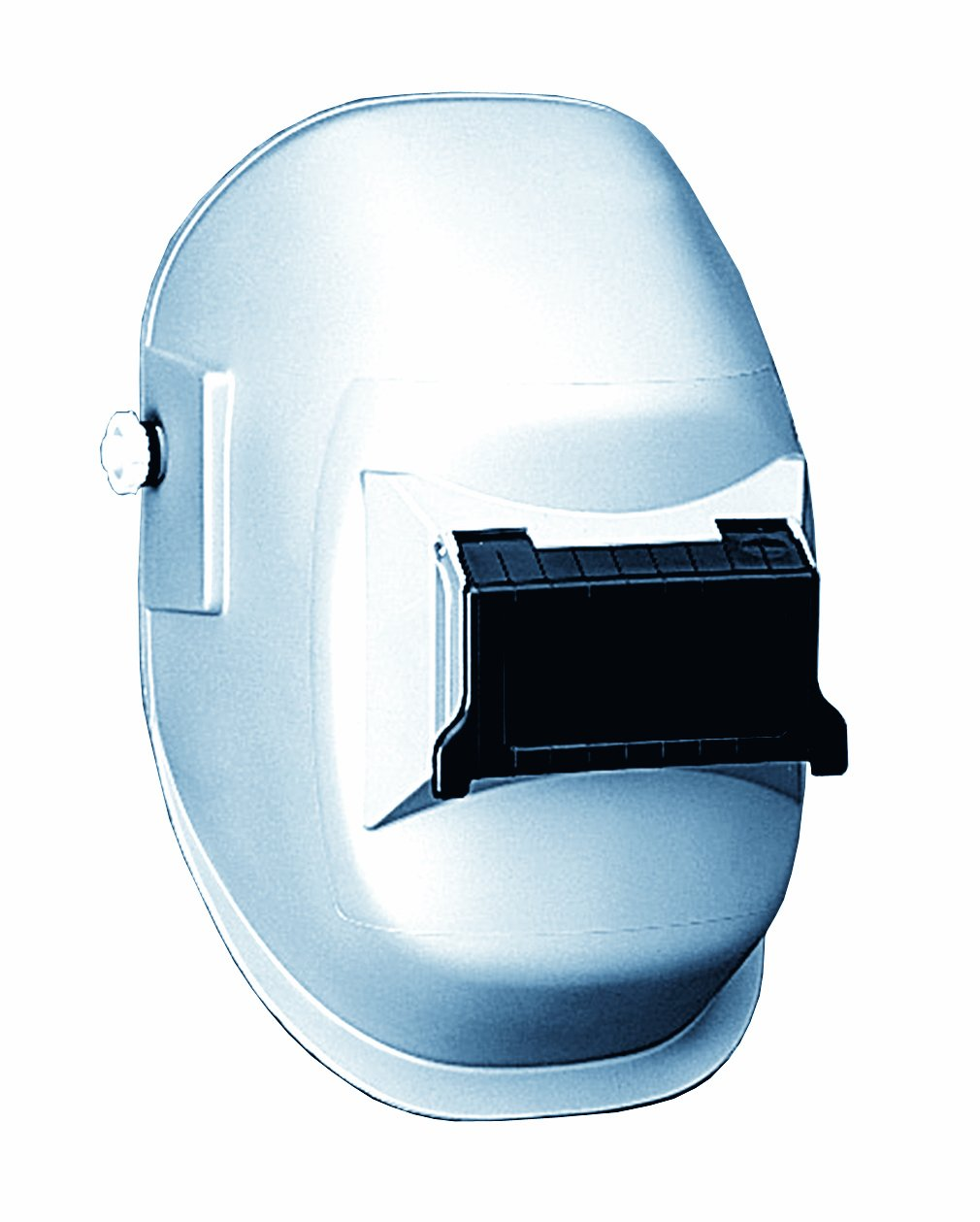 Sellstrom 29311 Nylon Super Kool Silver Coated Welding Helmet with 4-1/4'' Width x 2'' Height Sel-Snap Lift Front, Made in USA