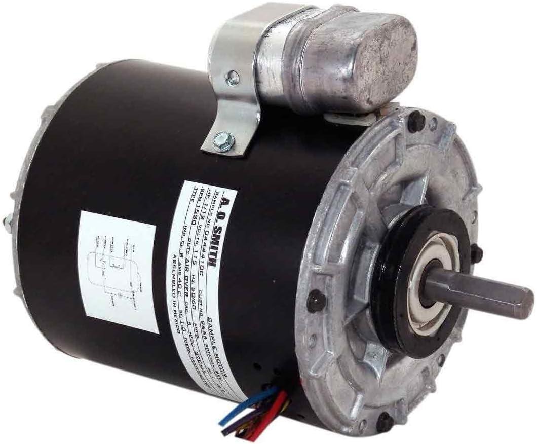 AO Smith 9668GE 21/295.0-Inch Frame Diameter 1/12 HP 1550 RPM 208-230-Volt 0.65-Amp Sleeve Bearing