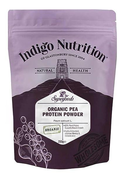 Proteína de guisante ecológico en polvo – 250g (Proteína Vegana)