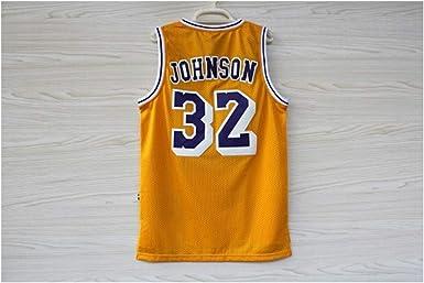 QPO Lakers # 32 MagicJohnson Camisa Reversible Esencial para ...