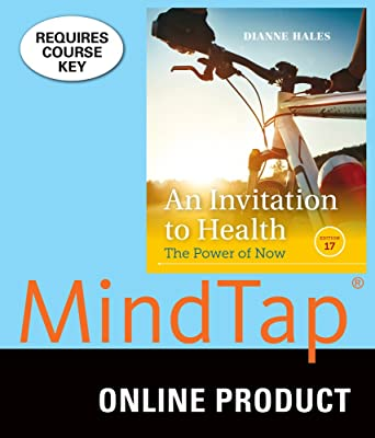 Amazon mindtap health for hales an invitation to health 17th mindtap health for hales an invitation to health 17th edition stopboris Gallery