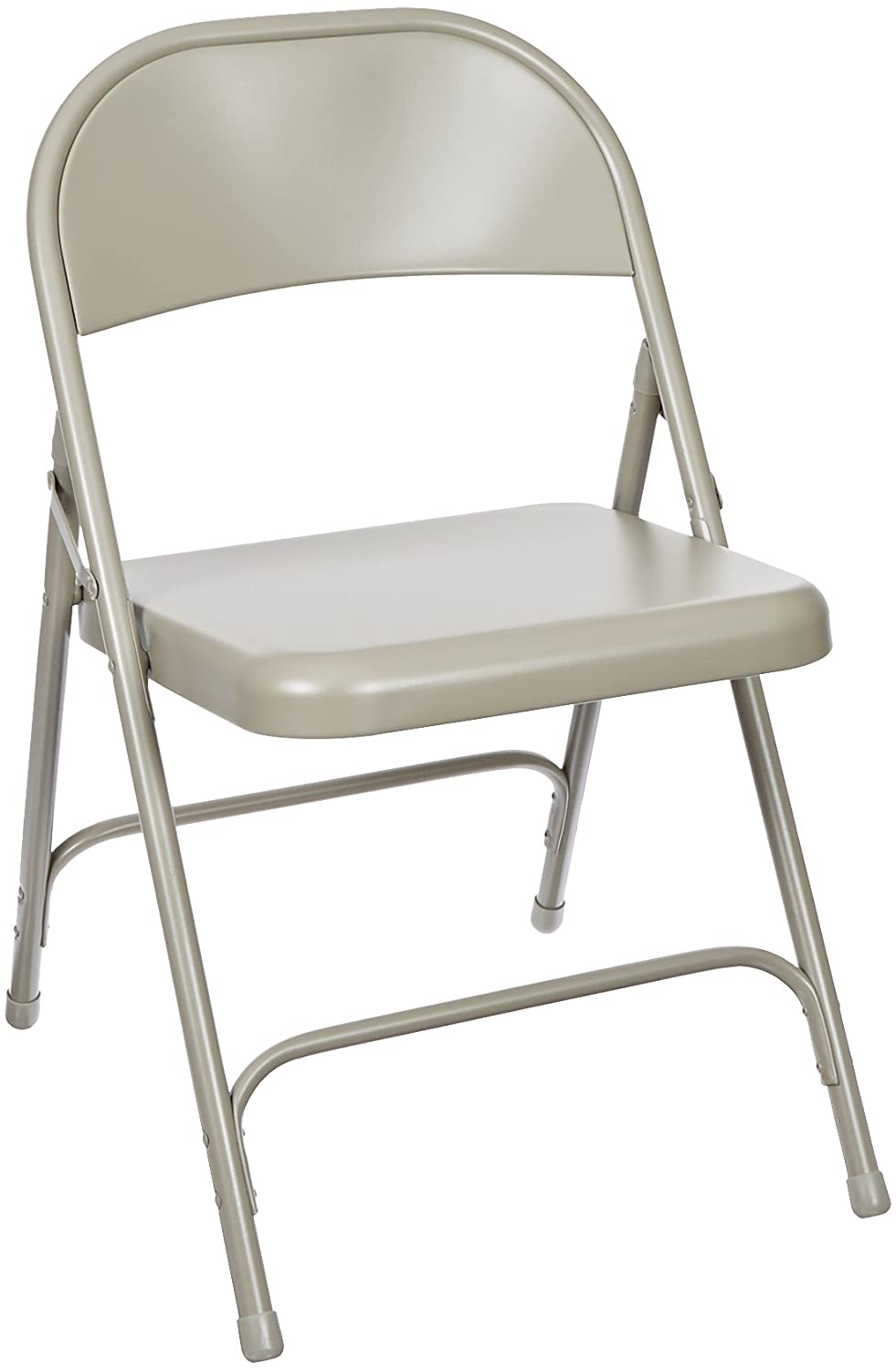 12 people when using folding chairs 12 people should fit comfortably - Amazon Com National Public Seating 50 Series All Steel Standard Folding Chair With Double Brace 480 Lbs Capacity Beige Carton Of 4 Industrial