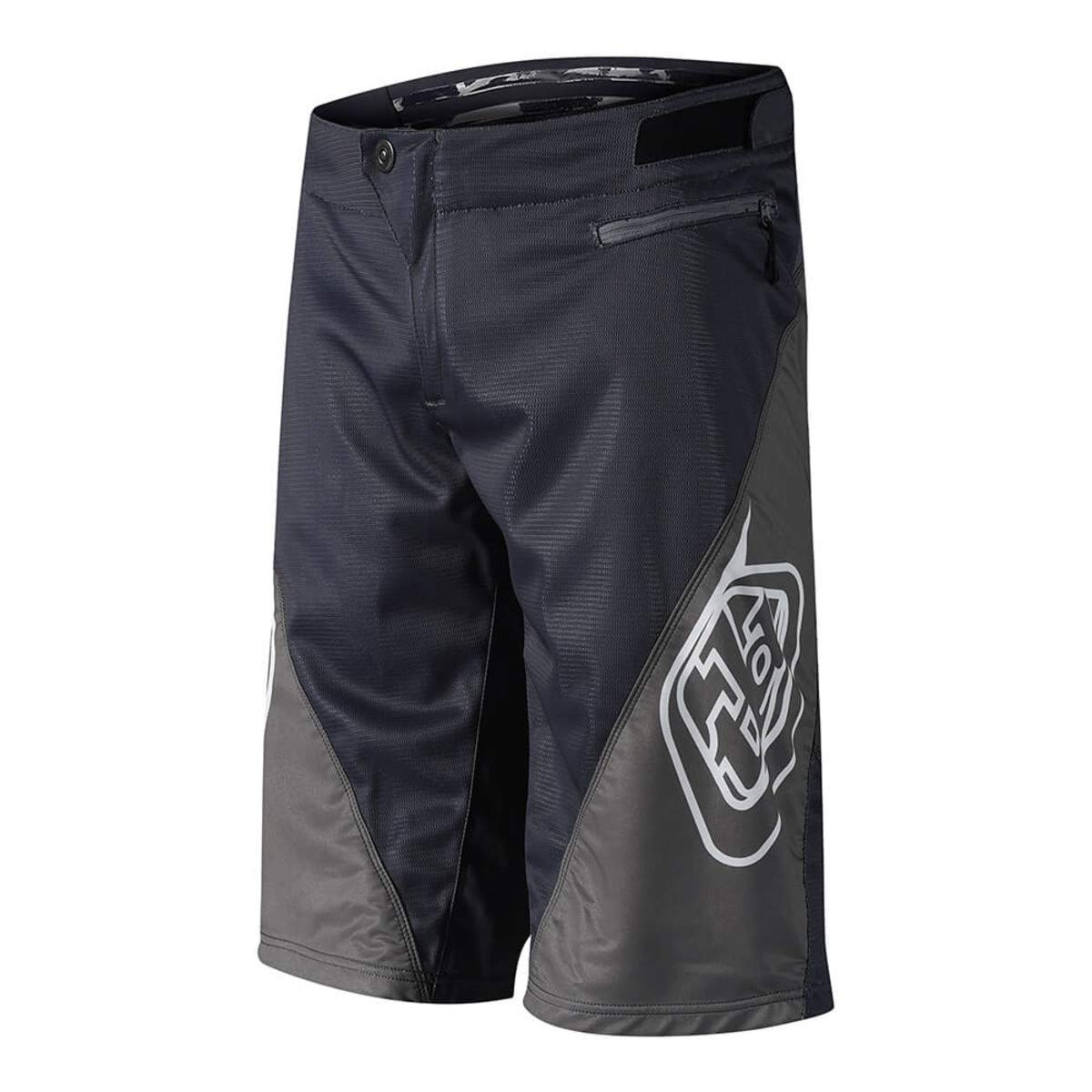 Troy Lee Designs Sprint Solid Youth Off-Road BMX Cycling Shorts - Gray / 22