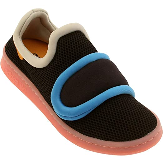 Adidas Court Remixed CF Black/Orange/Blue S81469 (Size: 8)