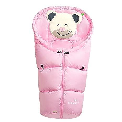 Odenwälder Mucki P5 Saco de dormir para bebé rosa