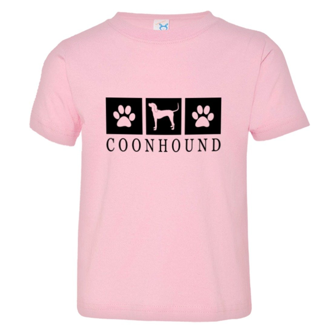 Toddler Coonhound Paws I Love My Dog Cat Lover HQ Tee Shirt