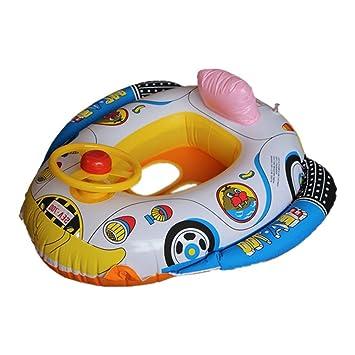 HuntGold bebé niños segura Tubo flotador para piscina flotador asiento de coche Natación Raft botes inflables