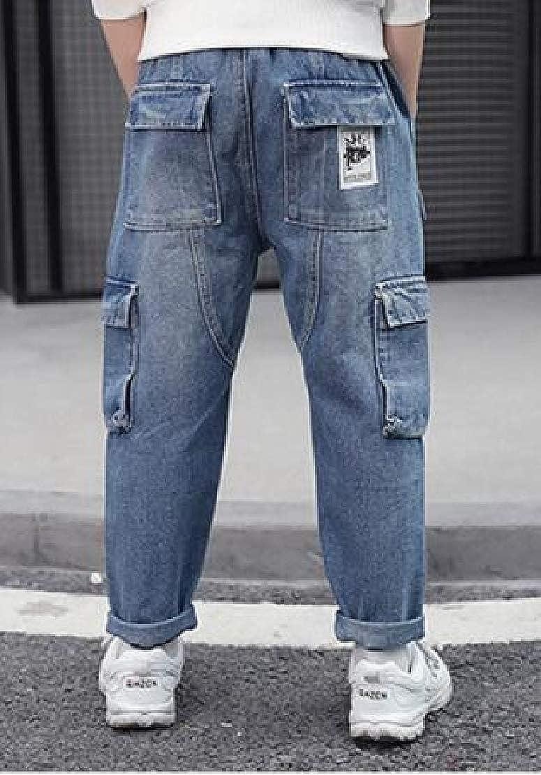 C/&H Boys All-Match Trousers Pocket Denim Jeans Pants
