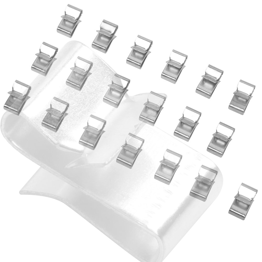 ELITEWILL Trailer Wire Clips Organize Hide Protect Wiring to Frame 25pc by ELITEWILL