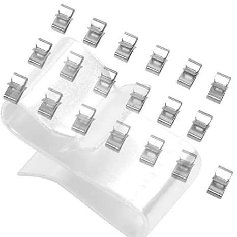 elitewill trailer wire clips organize hide protect wiring to frame 25pc Wiring Harness Retainer