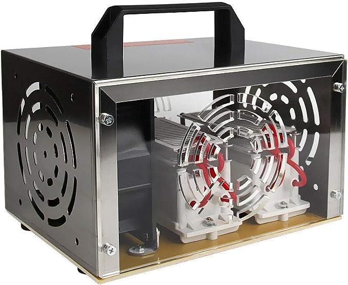 TOPCHANCES Topchance 220V 20g / h (Larga Vida) Generador de ozono Ozonizador Máquina de desinfección de Limpieza: Amazon.es: Hogar