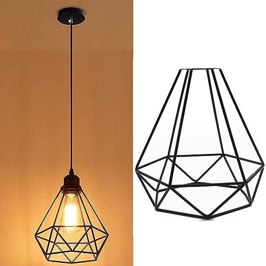 Jaula de lámpara vintage, 1/2/4/8 piezas, pantalla de lámpara ...
