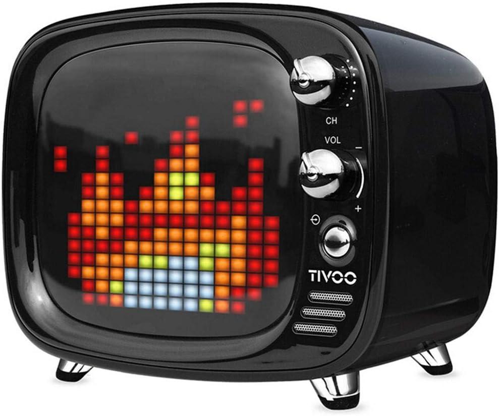 QOUP Altavoz Bluetooth, TV inalámbrica pequeña, indicador de Voz ...