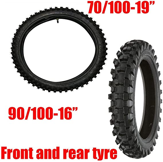 MX 90//100//16 For Honda Dirtbike 3.50-16 3.5-16 Heavy Duty 90//100-16 Motocross