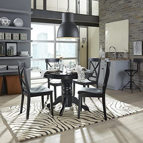 home, kitchen, furniture, kitchen, dining room furniture,  tables 4 discount Classic Black 42