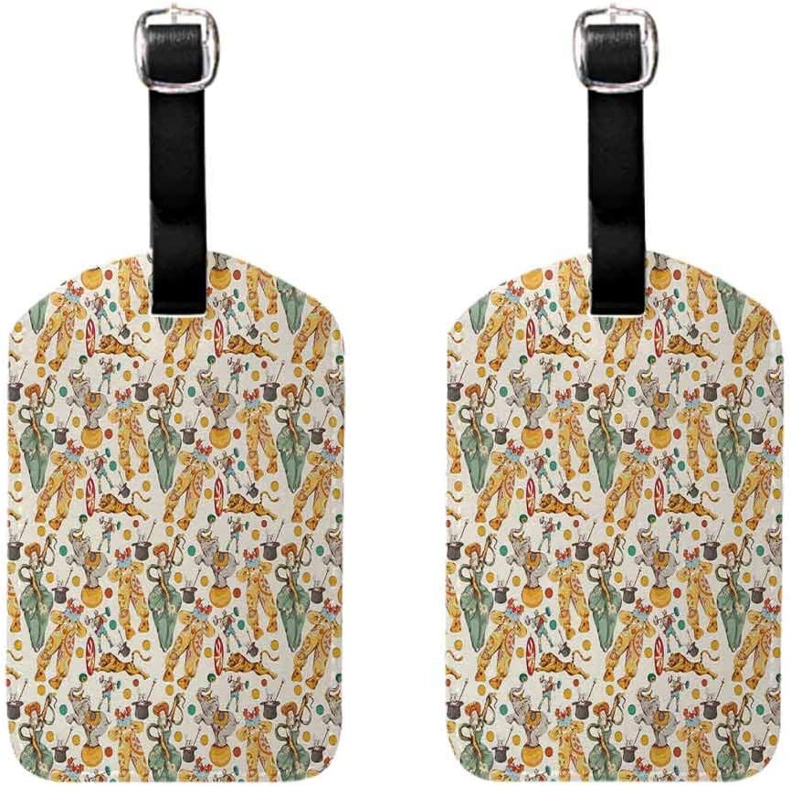 Hot sale 1pc Oriental Art Style Motifs Vintage Design Tribal Inspirations Label Tag Address Holder