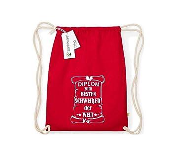 Camiseta stown Organic gymsac Diploma el mejor del mundo soldar, color rojo, tamaño talla única: Amazon.es: Deportes y aire libre