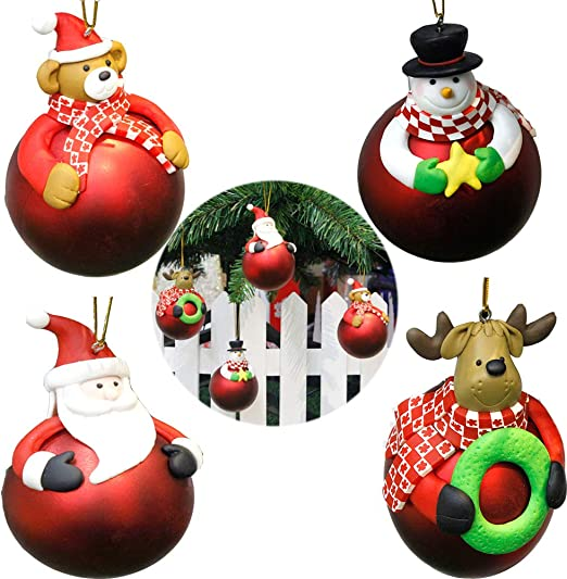 **SALE**  8 x Christmas Cards Packs Baubles Santa Christmas Snowman Reindeer