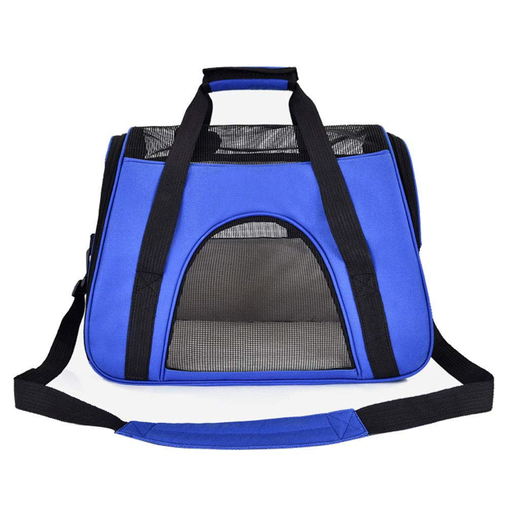 bluee NIANXINAN Pet Carrier Lightweight Travel Seat For Dogs, Cats, Puppies Made Of Waterproof Nylon