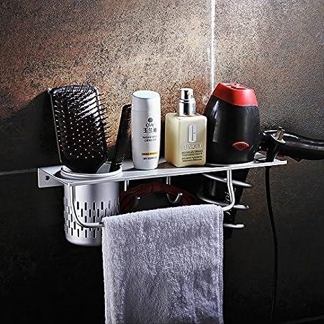 Amazoncom Aluminum Wall Mounted BathroomWashroom Daily Living - Bathroom cup holders wall mount for bathroom decor ideas