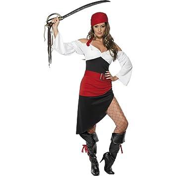 NET TOYS Traje de Pirata asesina Disfraz bucanero Vestido corsario ...