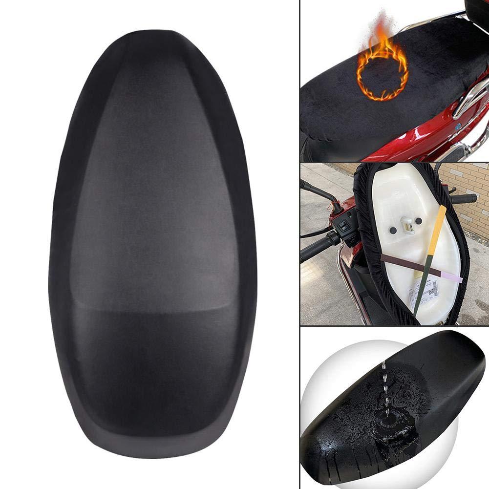 Abriebfest Motorrad-Sitzbezug Sitzkissenbezug Motorrad-Roller-ATV-Sitzbez/üge f/ür die meisten elektrischen Motorradsitze doppelseitig verwendbar wasserdicht UV-Schutz