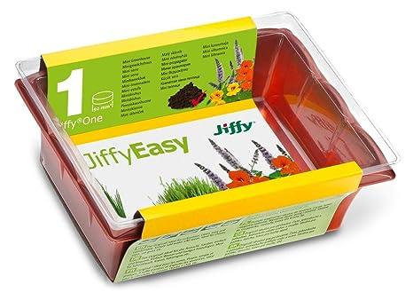 Jiffy 110043 Invernadero (ligero) con tierra de cultivo
