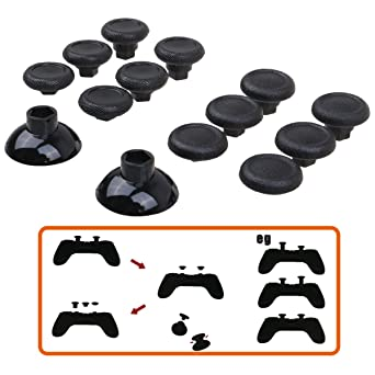 07ce0fddd53 Pandaren® Professional Replacement Swap Analog sticks (12 + 2 pcs) for PS4