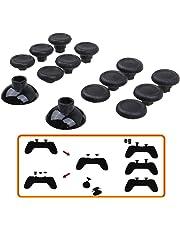 Pandaren® Professionelle Ersatz Swap Analogsticks (12 + 2 Stück) für PS4 Controller und Xbox one Controller