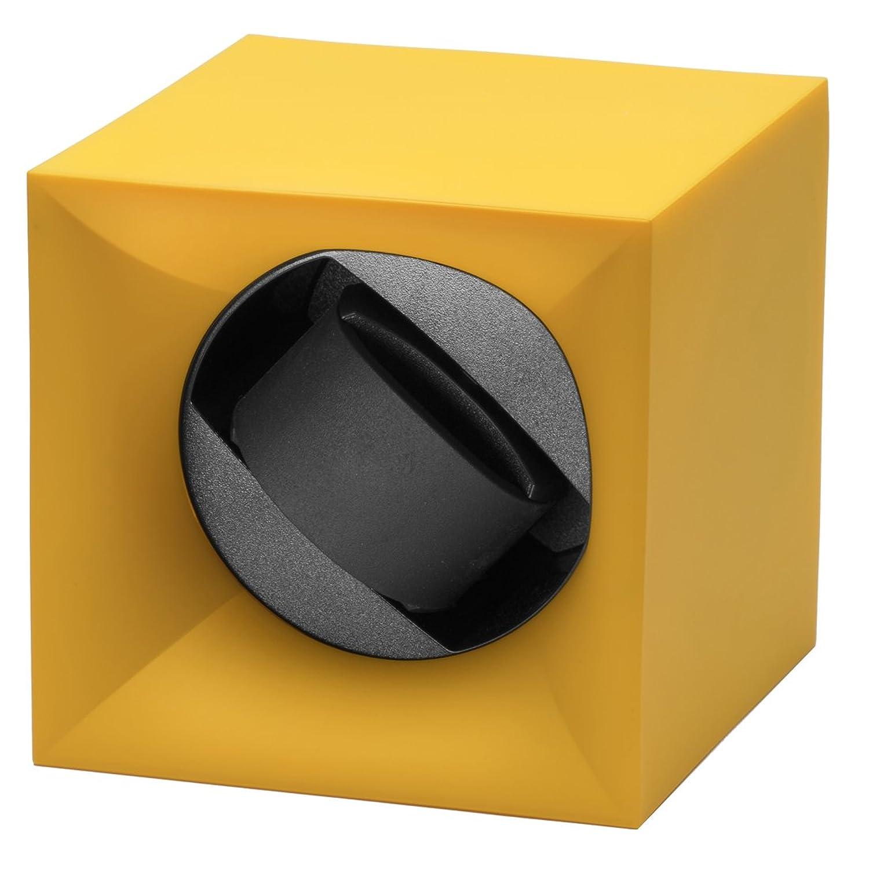 Swiss Kubik Uhrenbeweger ABS Gelb