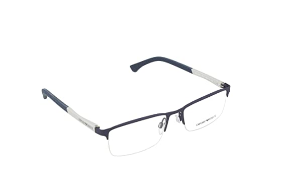 25d9835f3990 Image Unavailable. Image not available for. Color  Armani EA1041 Eyeglass  Frames 3131-55 - Blue Rubber