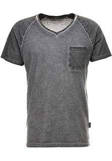 700c45b863de YOURTURN Men's T Shirt with Breast Pocket - Soft Cotton Mix Tshirt - Plain  Jersey Short